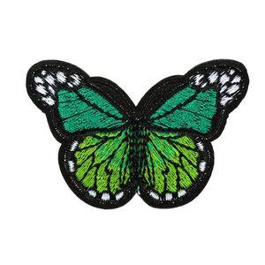 Image 4 - 10個刺繍蝶縫う綿パッチバッジ刺繍織物アップリケdiy服アクセサリーバッジステッカー