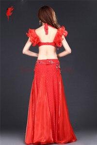 Image 4 - Nuovo Professionale di Danza Del Ventre Abbigliamento Le Donne Orientali costumi di Danza Del Ventre per le Prestazioni di danza del ventre vestito S M L