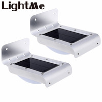 2PCS Premium LED Solar Light Outdoor Light Waterproof Energy Saving Wall Light Motion Sensor Solar Lights