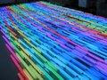50 pcs /LOT, 6 Pixels/M full color RGB LED Digital Tube, 9W 108pcs Led,IP65 with Aluminum Base