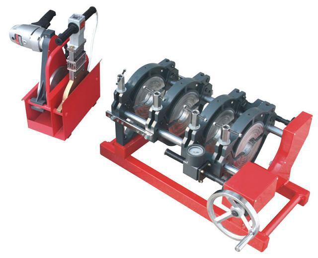 SWT B160/63 мс четыре зажимы HDPE трубы стыковой сварки машина для Dejan Radivojevic к оплате