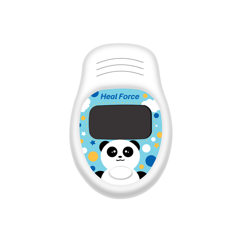 Cute Panda Pediatric Oximeter Finger Tip Medical Equipment Home Hospital Clinic Sport Heart Rate Monitor Finger Oximeter(China)