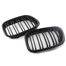 цена на MAHAQI Gloss Black M Color Front Center Grille for BMW 99-03 X5 E53 Grill Kidney Hood High Quality Hot Sale