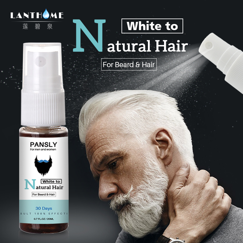 PANSLY Restore White Beard & Hair To Natural Hair Color ...