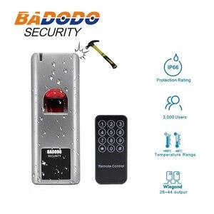 Image 2 - 12V 3A adattatore di alimentazione 10 tag impermeabile Biometrico di Impronte Digitali RFID reader 125KHZ EM IC 13.56mhz serratura Della Porta sistema di Controllo di accesso