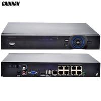 GADINAN 8CH 48V POE NVR 1080P H 264 HDMI ONVIF 3G WIFI Alarm Center 3MP FULL