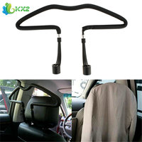 Stainless Steel Car Scalable Hangers Back Seat Headrest Coat Clothes Hanger Jackets Suits Holder Rack Auto
