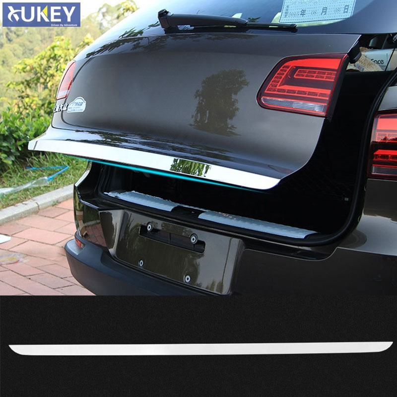 Fit For Vw Tiguan 2010 2014 2015 Chrome Rear Trunk Tailgate Door Cover Tail Gate Trim Molding ...