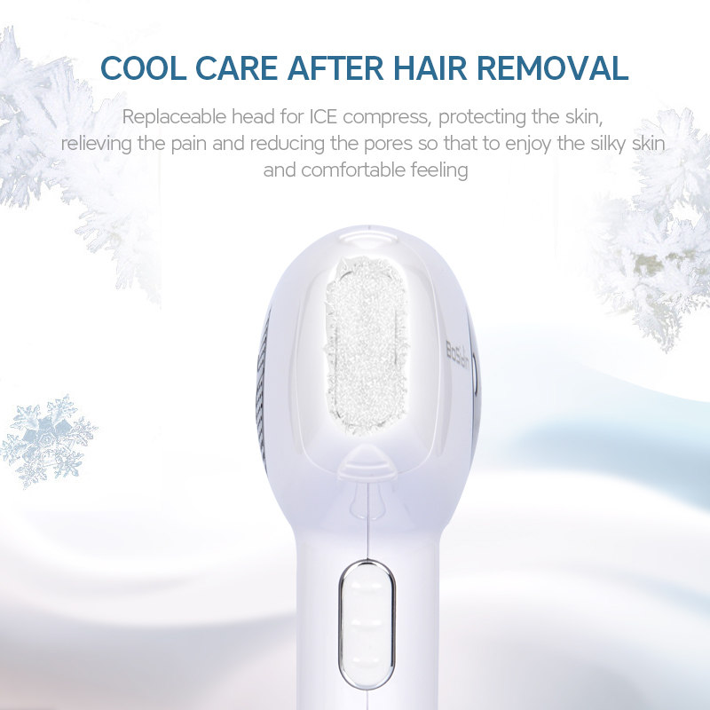Image 3 - Bosidin IPL Hair Removal ICE Cool Epilator Permanent Laser Hair Removal Home Bikini Trimmer Electric Photorejuvenation Depilador-in Epilators from Home Appliances