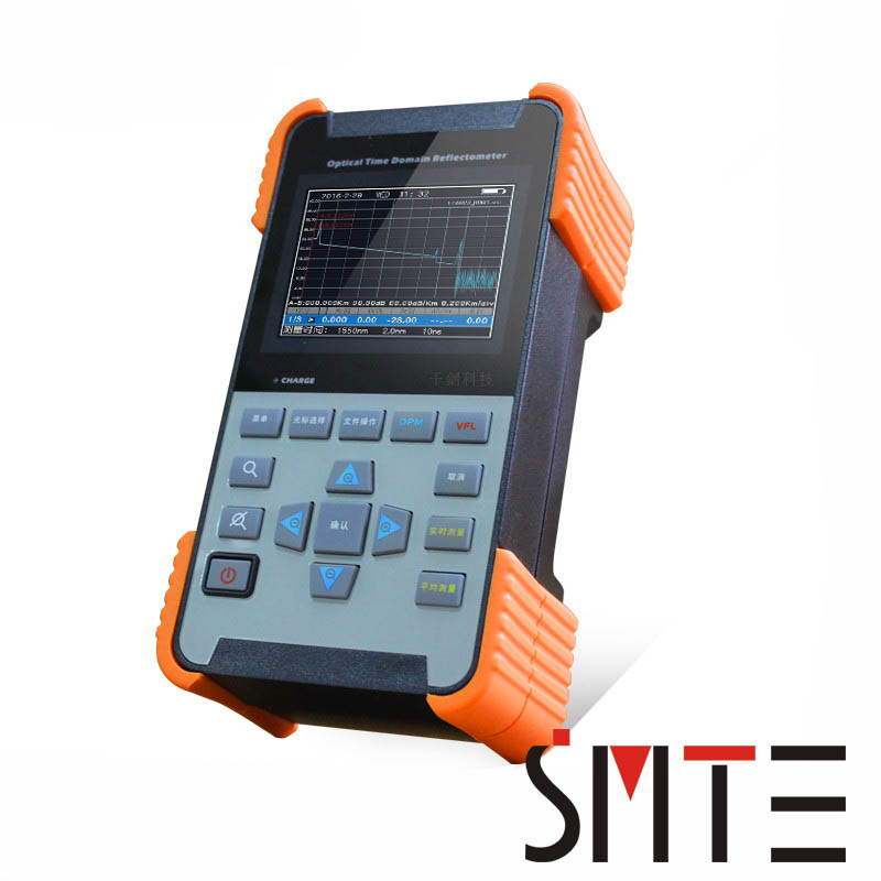 Handheld OTDR SD2080 80km 28/26dB Tribrer Brand Integrated VFL 1310nm/1550nm Optical Time Domain Reflectometer