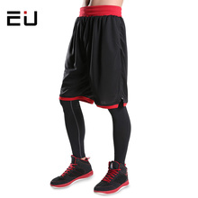 EU Mens Basketball Shorts Men Workout Sport Shorts Plus Size Quick Dry Running Training Basketball Shorts with Pockets for Men