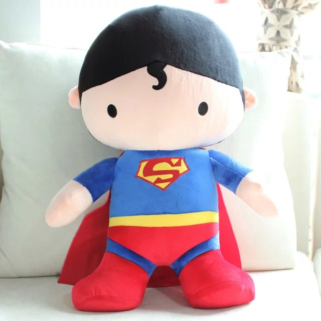 100cm Lovely Superman Batman stuffed doll plush toys creative birthday gift for kids 40cm new lovely mickey mouse and minnie mouse plush toys stuffed cartoon figure dolls kids christmas birthday gift