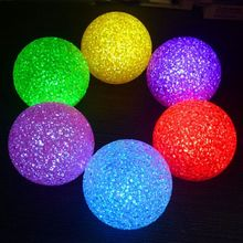 Colorful Romantic Changing Crystal Ball LED Night Light Amazing Lighting Lamp Glow Atmosphere Toys