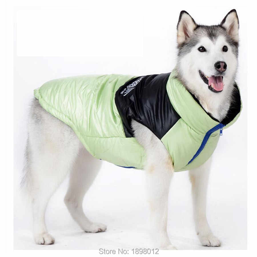 Lvguang Chaqueta Acolchada para Perros de Invierno Al Aire Libre Traje a Prueba de Viento Abrigo C/álido Azul, XS