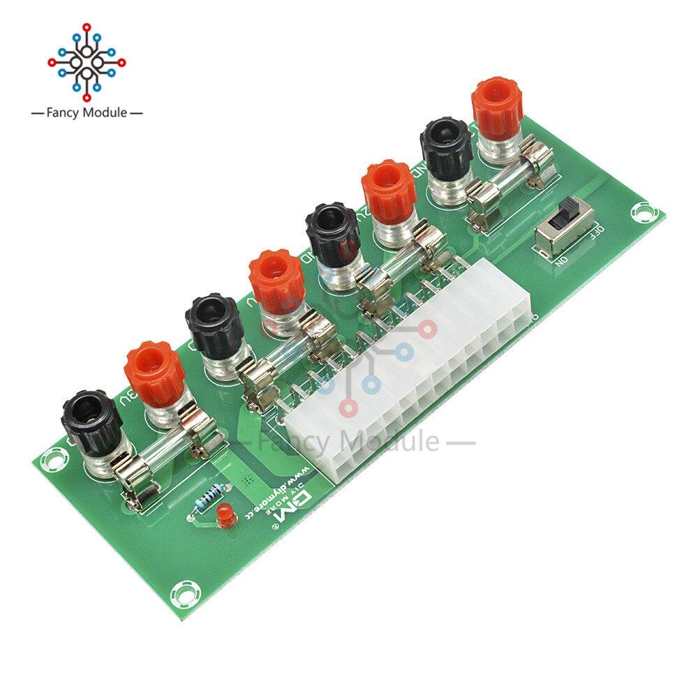 XH-M229 PC de Escritorio Fuente de alimentación ATX de placa de transferencia de energía prueba módulo 24 Pin