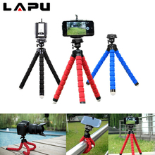 For Mobile Phone Camera Phone Holder Flexible Octopus Tripod Bracket Selfie Expanding Stand Mount Monopod Styling Accessories цена и фото