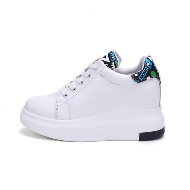women shoes Increased height Flat casual shoes woman white apartment Superstar zapatos de mujer tenis feminino chaussure femme