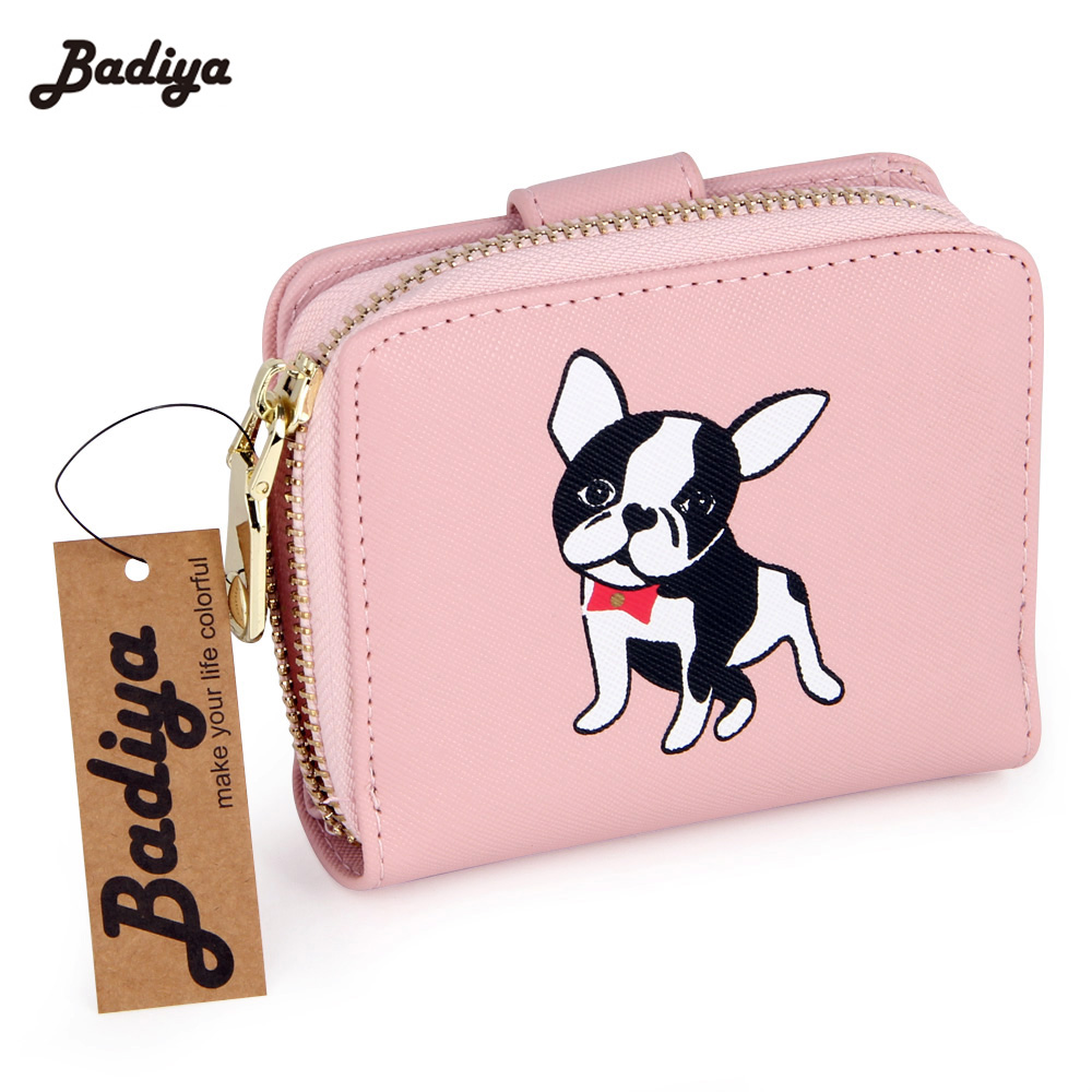 Women's Small Purse PU Leather Womens Wallets Hasp And Zipper Cute Money Bags Women Clutch Wallet Card Holders Purse For Girls