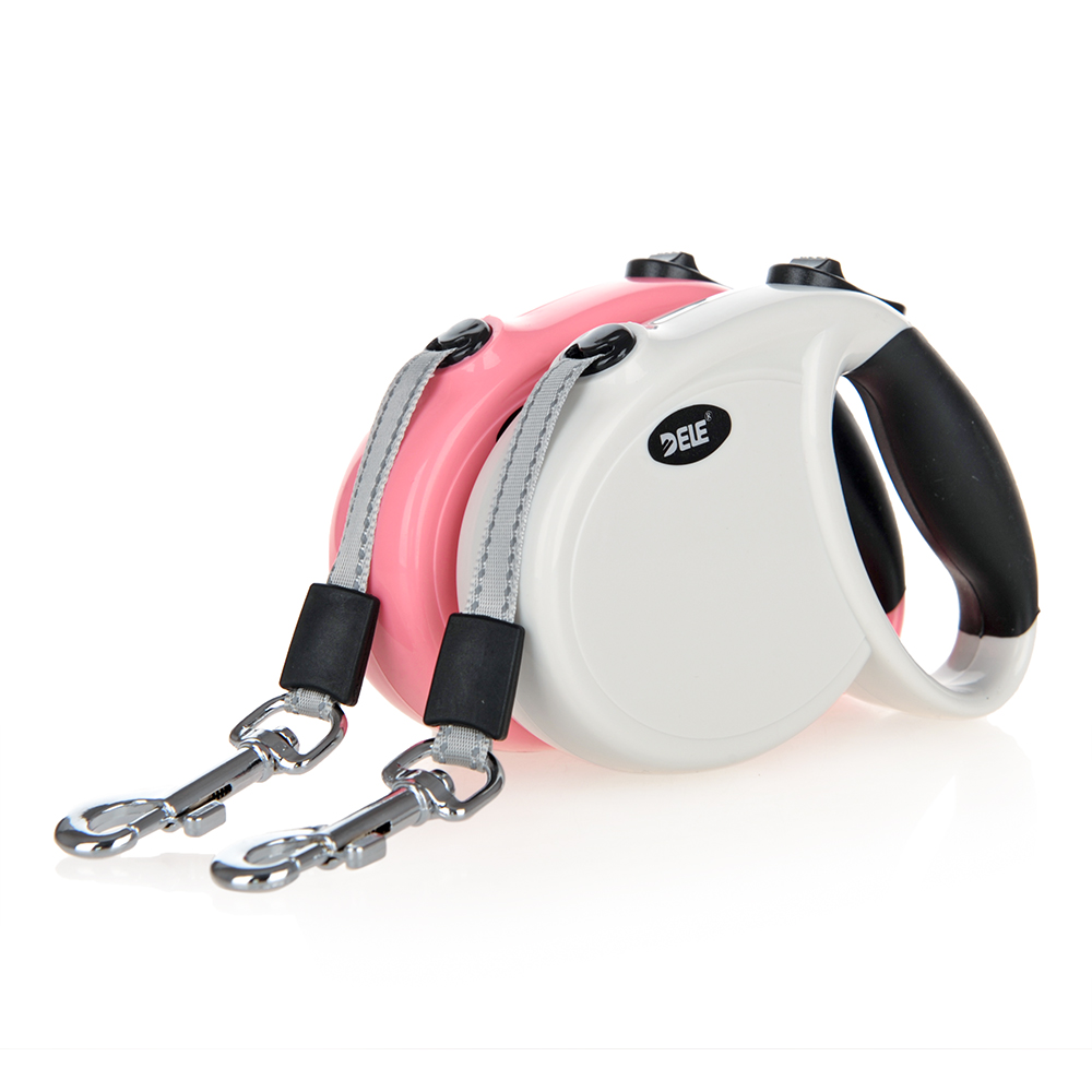 Leashes Kind-Hearted Durable Reflective Pet Dog Leashes For Large Dogs Automatic Extending Traction Rope Retractable Big Dog Pet Walking Leash Leads Home & Garden
