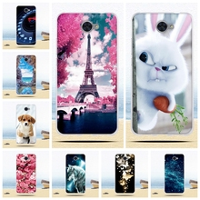 Back TPU Case For Huawei Y7 / Nova Lite+ / Ascend XT2 Soft Silicone Phone Cover For Huawei y7 Print Shells For Huawei nova lite+