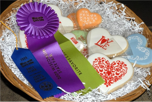 4pcs/lot Love Cookie Stencils Fondant Molds Cookie Mold Cake Stencils - Kitchen, Dining and Bar - Photo 3