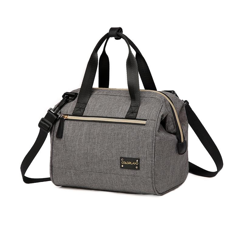 Colorland Fashion thermos Bag Picnic Lunch Box Waterproof Stroller Changing Diapers Bag Garrafa Termica Infant Bolsa Maternidad бутылка для воды xml 650 h20 garrafa termica h2o warter 65568p8