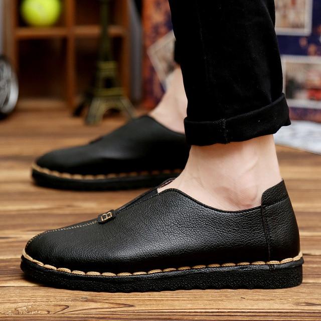 Breathable Shoes Mannen Schoenen Leather Shoe Men Casual Shoes Zapatos Hombre 2017 Summer Chaussure Homme Mens Shoes