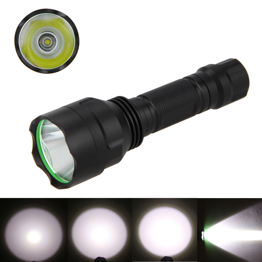 2200 Lm XM-L T6 LED Torch Waterproof Flashlight Light+4000mAh 18650 Battery+Battery Charger+Bike Mount+Red Led Taillight cree xm l t6 bicycle light 6000lumens bike light 7modes torch zoomable led flashlight 18650 battery charger bicycle clip