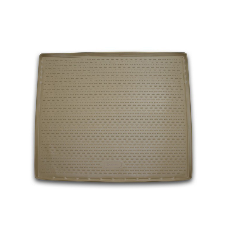 Mat trunk For CADILLAC Escalade 01/2015->, внед. lengths... 1 PCs (polyurethane, beige) mat trunk for cadillac escalade 06 2006 2015 внед polyurethane