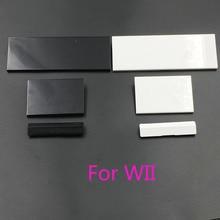 60 ensembles 3 en 1 remplacement fente de porte couvre rabat pour Console Nintendo Wii