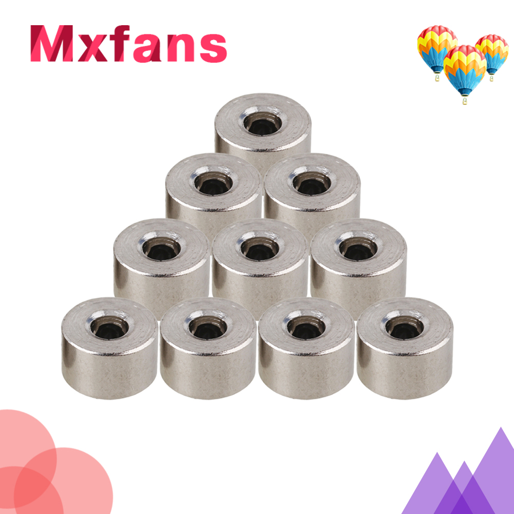 Mxfans 10 pcs Stainless Steel 3.05MM Bushing Axle Shaft Sleeve for DIY Model