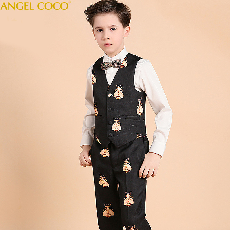 Nimble Suit For Boy Terno Infantil Boys Suits For Weddings Costume Enfant Garcon Mariage Disfraz Infantil Baby Boy Suit Blazer retractable usb charging cable for samsung a288 a388 a399 a408 more 70cm