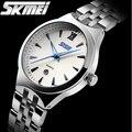 2016 mujeres de Los Relojes de marca de lujo de cuarzo Skmei relojes de moda casual relojes deportivos de buceo 30 m reloj mujer relogio feminino