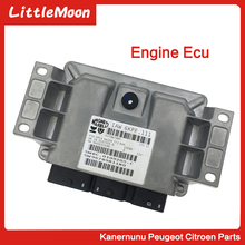 LittleMoon Original brand new engine computer ECU car for Peugeot 206 308 307 408 508 Citroen C4 C5 C2 2.0/2.3 EW10/12