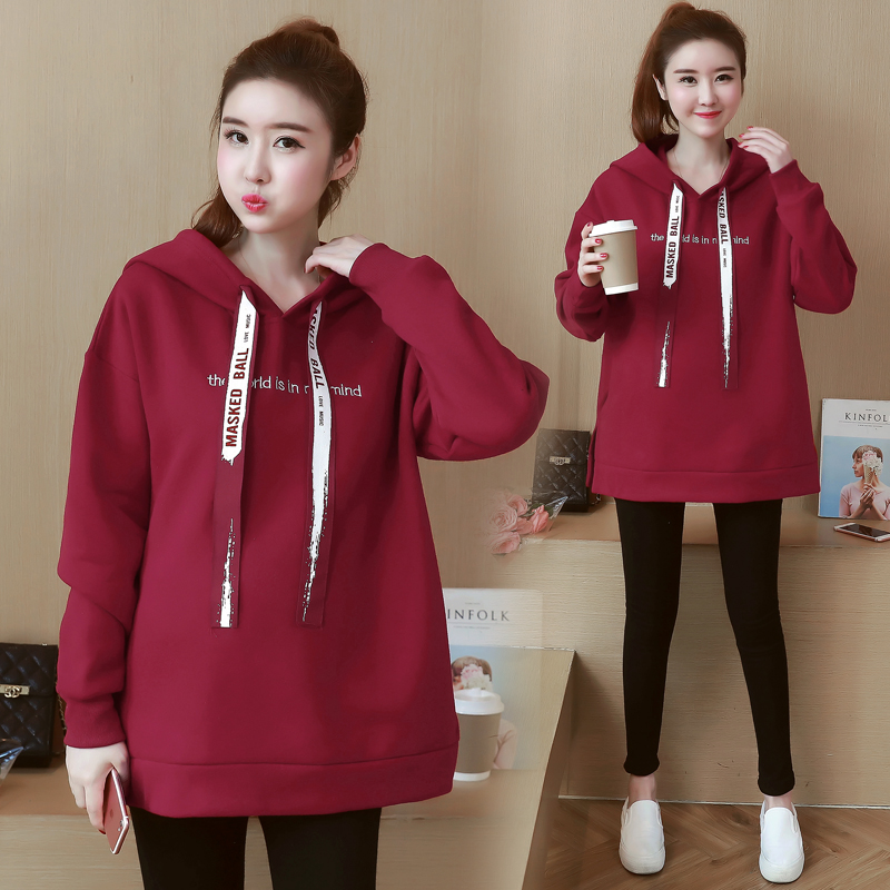 1d795ebd7d3 Aliexpress.com   Buy Hot Sale Maternity Tops Hoodies Winter Warm Clothes  for Pregnant Women Plus Size Coat Female Hoodie Vestidos Gestante from  Reliable ...