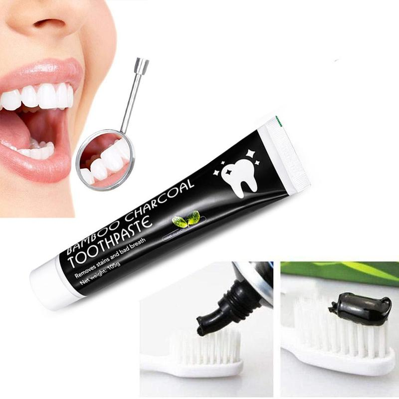Bamboo Natural Activated Charcoal Toothpaste Intensive Stain Removal Teeth Whitening Toothpaste Oral Hygiene Tooth Care Dental