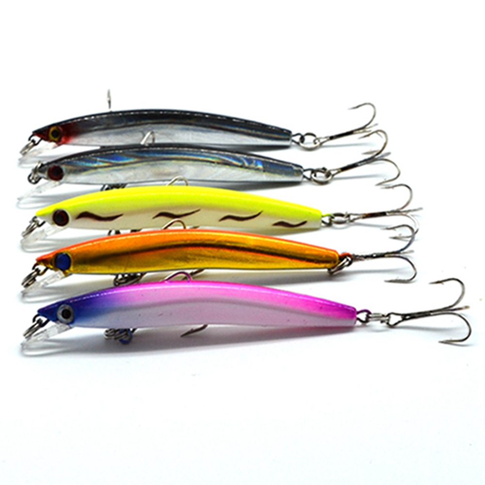 1db Laser Minnow Fishing Lure 8cm / 3.15in 5g / 0.18oz pesca horgok - Halászat