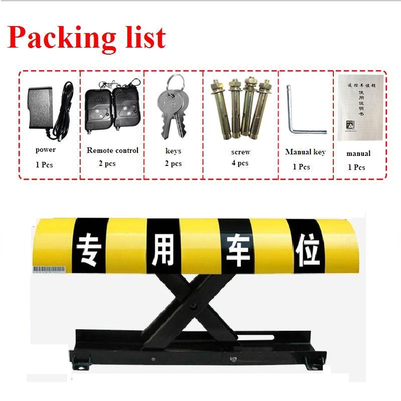 Vehicle Auto-sensing Parking Obstacles - Long Rocker - Parking Locks And Obstacles