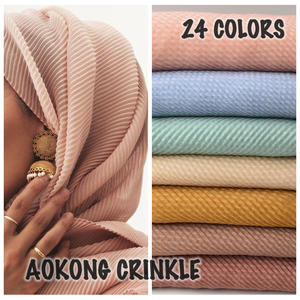 MECON HING 10pcs/lot women scarf soft muslim head wraps