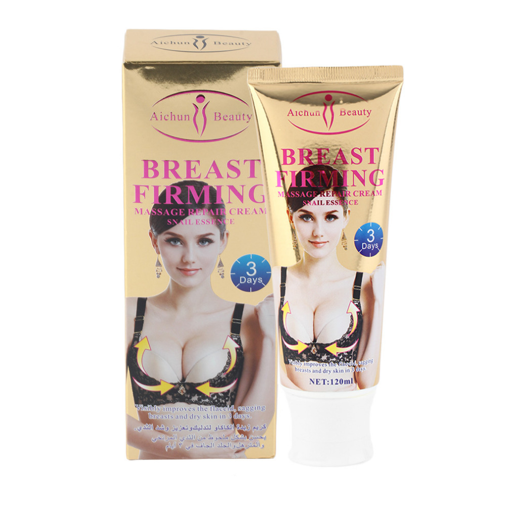 AICHUN Breast Enlargement Cream Women Fast Enlarge Firming Lifting Cream Snail Type For Breast Increase 120G Best Selling