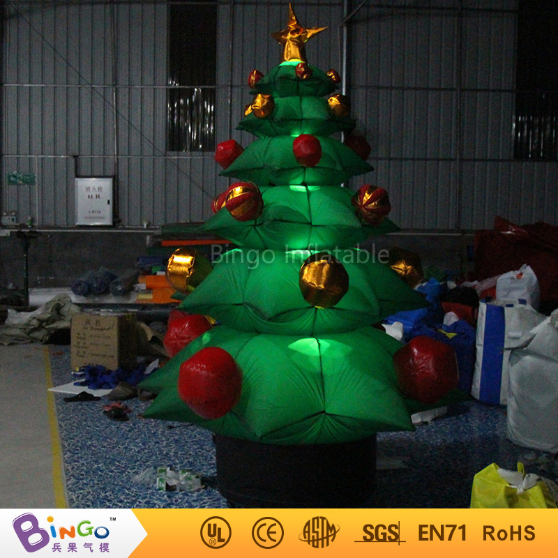 free shipping 22m high inflatable christmas trees high quality blow up christmas decorations for display toys in inflatable bouncers from toys hobbies on