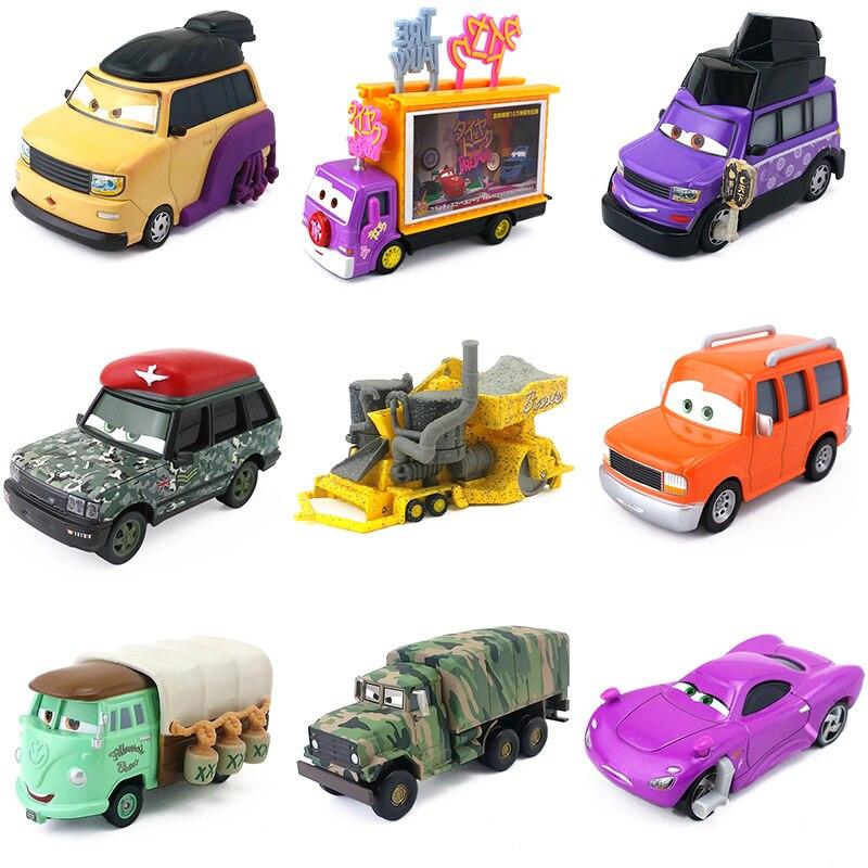 Disney Pixar Cars Diecast Very Rare Disney Pixar Cars 2 Lightning McQueen Toy Great Collection Kid Best Festival Gift