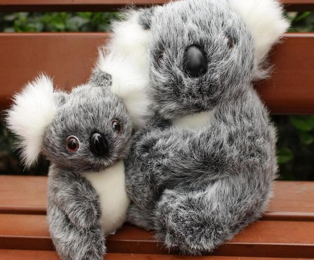 16CM New Arrival Super Cute Small Koala Bear Plush Toys Adventure Koala Doll Birthday Christmas Gift PT024 5