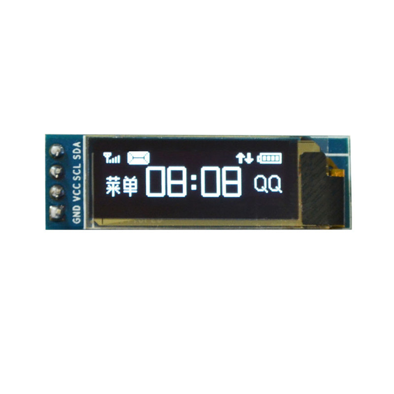0.91 Inch Blue OLED LCD Display Module 128x32 I2C IIC Serial Blue 0.91