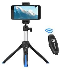 Benro MK 10 השני Bluetooth Smartphone Selfie מקל חצובה נייד Vlog לחיות חצובה Selfie עבור אנדרואיד iPhone DSLR פעולה מצלמה