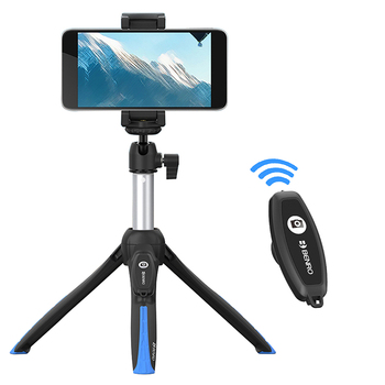 Benro MK-10 II Bluetooth Smartphone Selfie Stick Tripod Portable Vlog Live Tripod Selfie for Android iPhone DSLR Action Camera