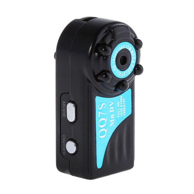 Neue QQ7S Mini Kamera HD 1080 p Mini DVR Kamera Stimme Video Recorder IR Nachtsicht Motion Detection Camcorder für auto Recorder