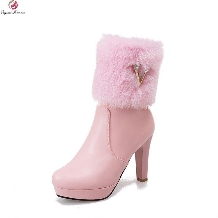 Prodotto Original Intention Super Elegant Donna Ankle  Stivali   Ankle 7cd509