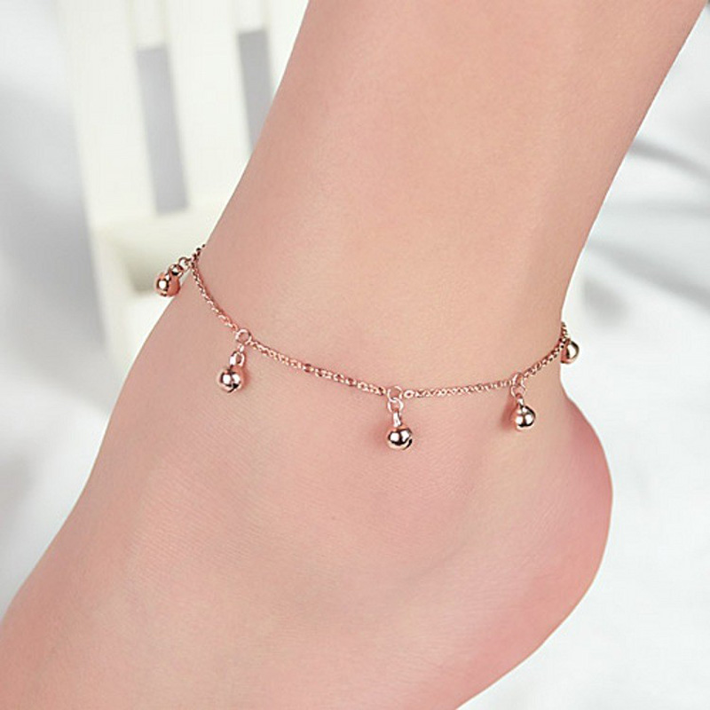 Fashion jewelry sweet romantic leisure jingle for ladies and children fine Anklet