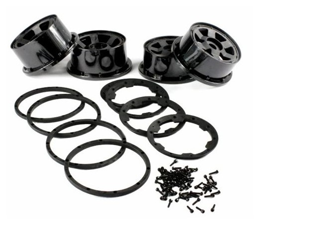 rovan 6 SPOKE wheels fits baja 5b 5sc, come with beadlocks and bolts колесные диски nz wheels sh275 5 5x13 4x98 d58 6 et35 s